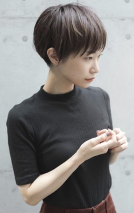 高円寺ひし形ショート! 刈り上げ女子のイメージ