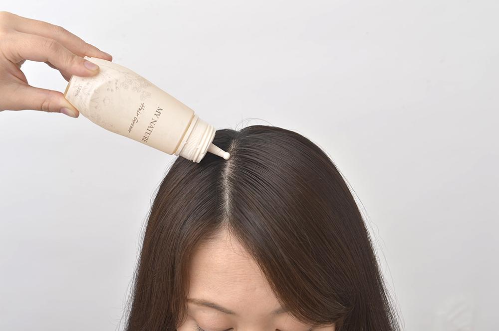 育毛剤マイナチュレの効果のイメージ