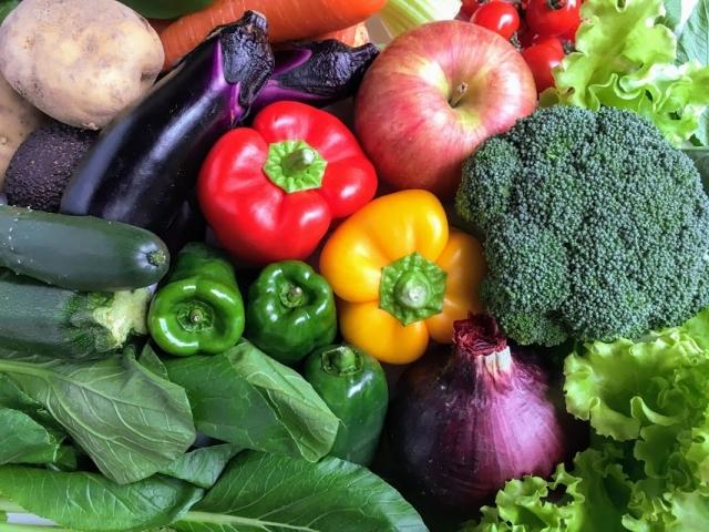ビタミン類が多く含まれている野菜の画像