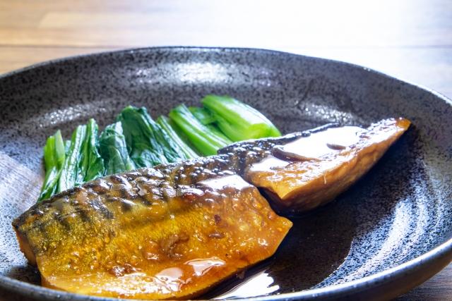 鯖定食の画像